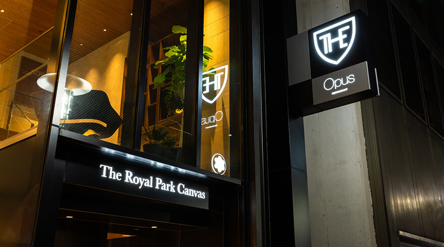 THE ROYAL PARK CANVAS GINZA8 OPEN